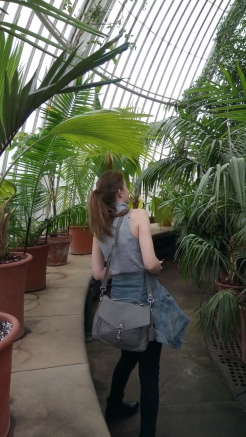 Kew Gardens (btw this is me)